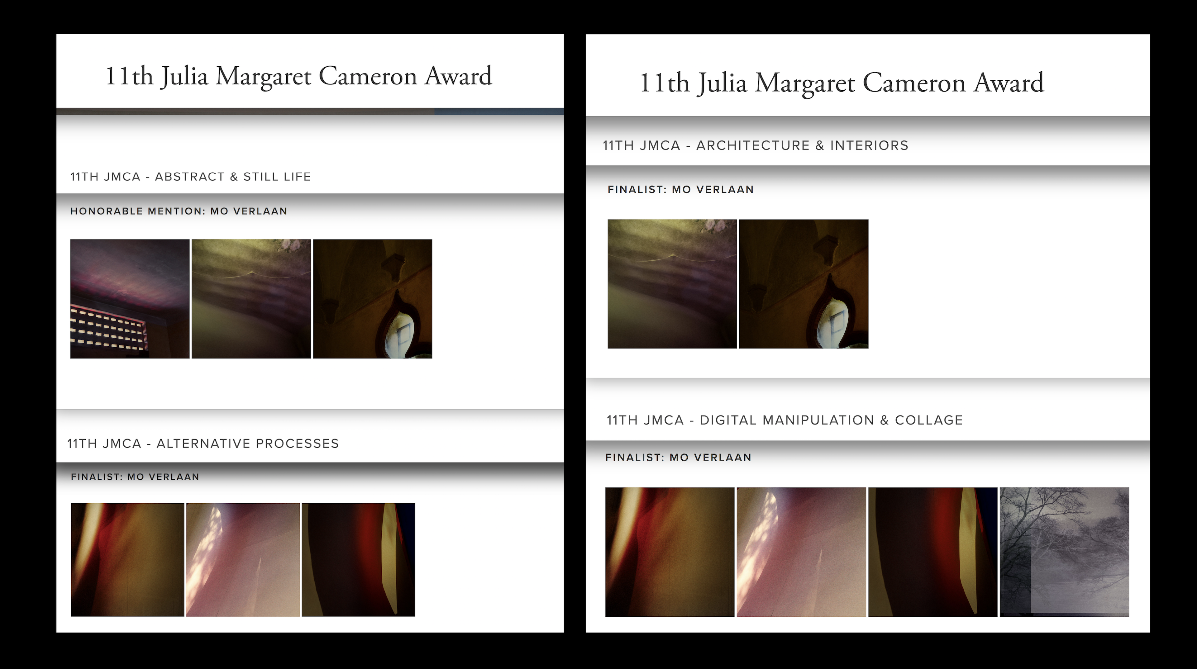 Winner honorable mention in category Abstract at 11th JMCA